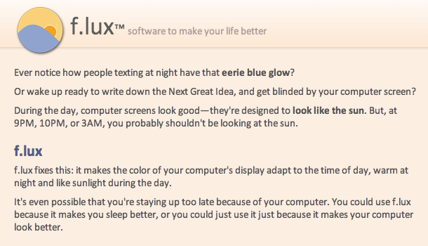f_lux__software_to_make_your_life_better
