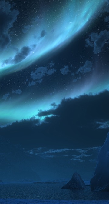Aurora wallpaper phone