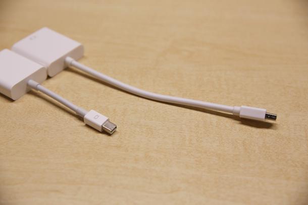 ケーブルは倍くらいの長さ